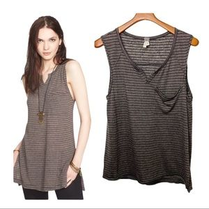 WE THE FREE Weekend Warrior Striped Sleeveless Top